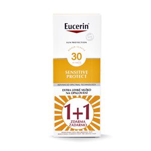 Eucerin Sensitive Protect SPF30 extra lehké mléko na opalování 2x150 ml duopack 1+1