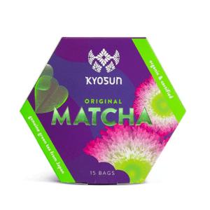 Kyosun Original Matcha BIO zelený čaj 15x2 g