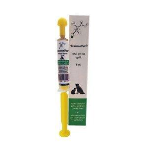 TraumaPet Ag Zubní gel se stříbrem 5 ml + aplikátor
