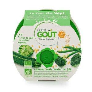 Good Gout BIO Brokolice, cuketa a zelené fazolky s tarhoňou 12m+ 220 g