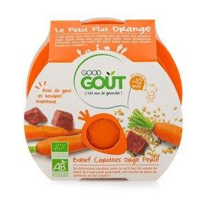 Good Gout BIO Hovězí s mrkví a ječnými kroupami 12m+ 220 g