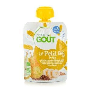 Good Gout BIO Hrušková snídaně 6m+ kapsička 70 g