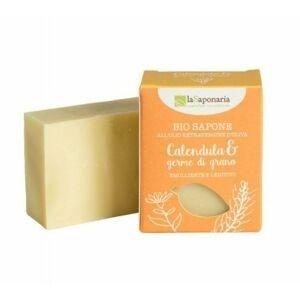 laSaponaria Tuhé olivové mýdlo měsíček a pšeničné klíčky BIO 100 g