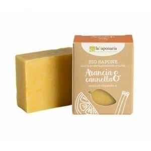 laSaponaria Tuhé olivové mýdlo pomeranč a skořice BIO 100 g