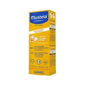 Mustela Opalovací mléko na obličej a tělo SPF50+ 100 ml
