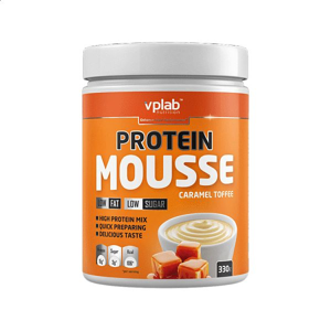 VPLAB Protein Mousse Caramel Toffee 330 g