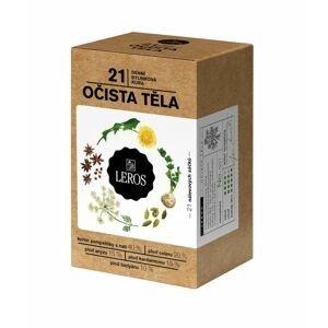 Leros Očista těla porcovaný čaj 21 sáčků