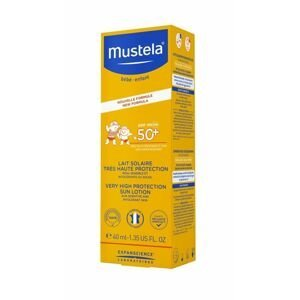 Mustela Opalovací mléko SPF50+ 40 ml