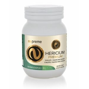 Nupreme Hericium extrakt 100 kapslí