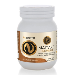 Nupreme Maitake extrakt 100 kapslí