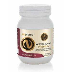 Nupreme Auricularia extrakt 100 kapslí