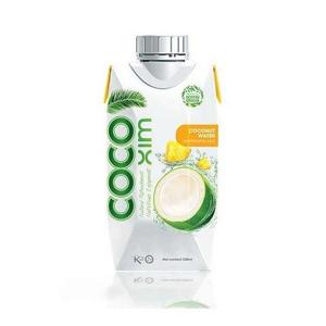 COCOXIM Kokosová voda ananas 330 ml