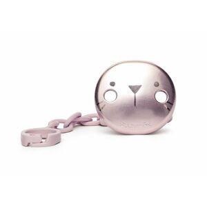 Suavinex Premium Hygge Klip na dudlík 1 ks růžový