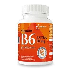 Nutricius Vitamín B6 EXTRA pyridoxin 50 mg 60 tablet