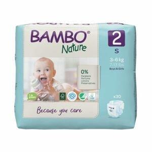 Bambo Nature 2 S 3-6 kg dětské pleny 30 ks
