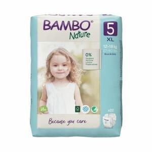 Bambo Nature 5 XL 12-18 kg dětské pleny 22 ks