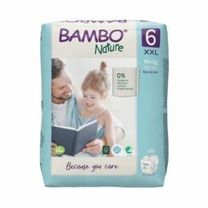 Bambo Nature 6 XXL 16+ kg dětské pleny 20 ks