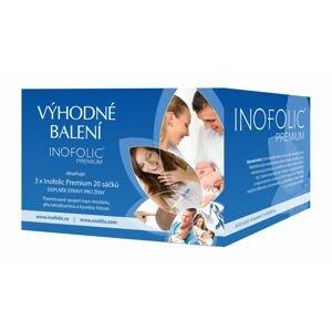 Inofolic Premium Výhodné balení 3x20 sáčků