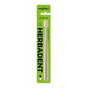 Herbadent Original Eco zubní kartáček jemný 1 ks