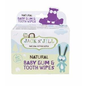 JACK N' JILL Ubrousky na dásně a zuby 25 ks