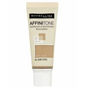 Maybelline Affinitone 17 Rose Beige hydratační make-up 30 ml