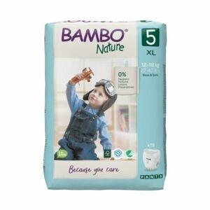 Bambo Nature Pants 5 XL 12-18 kg tréninkové kalhotky 19 ks