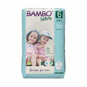 Bambo Nature Pants 6 XXL 18+ kg tréninkové kalhotky 18 ks