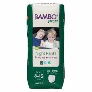 Bambo Dreamy Night Pants Boys 8-15 let 35-50 kg noční plenkové kalhotky 10 ks
