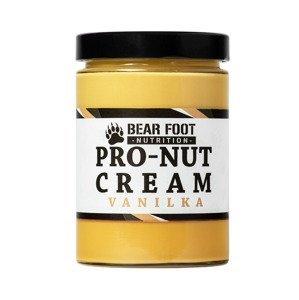 BEAR FOOT NUTRITION Pro Nut Cream vanilka 550 g