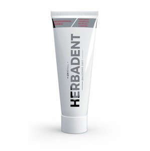 Herbadent Professional Homeo bylinná zubní pasta s ženšenem 100 g