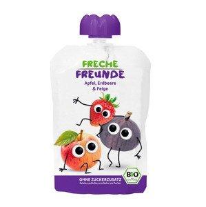 Freche Freunde BIO Kapsička jablko jahoda a fík 6x100 g