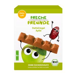 Freche Freunde BIO Tyčinka datle a jablko 6x17 g