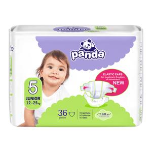 Panda Junior vel. 5 12-25 kg dětské pleny 36 ks