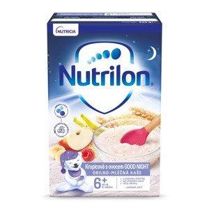 Nutrilon Krupicová kaše s ovocem GOOD NIGHT 225 g