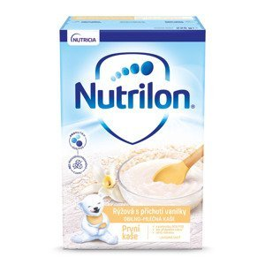 Nutrilon První kaše rýžová s příchutí vanilky 225 g