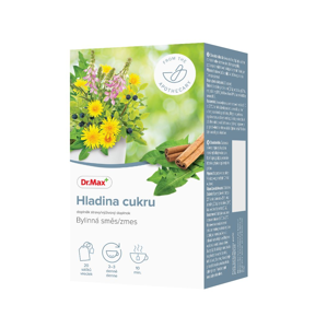 Dr.Max Hladina cukru bylinná směs 20x1,5 g