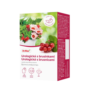 Dr.Max Urologická s brusinkami bylinná směs 20x1,5 g