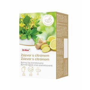 Dr.Max Zázvor s citrónem bylinný čaj 20x1,5 g