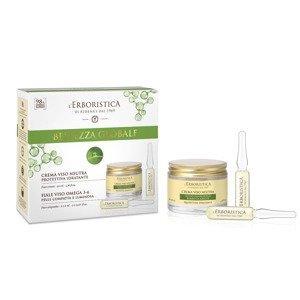 Erboristica Kosmetická sada hydratační krém a sérum 3 ks