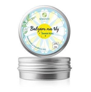 Naturalis Ochranný balzám na rty s heřmánkem Sweet kiss BIO 30 ml