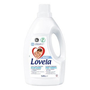 Lovela Baby Tekutý gel na bílé prádlo 1,45 l