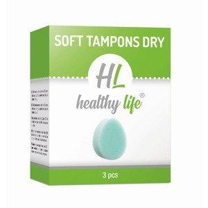 Healthy life Soft tampons Dry 3 ks