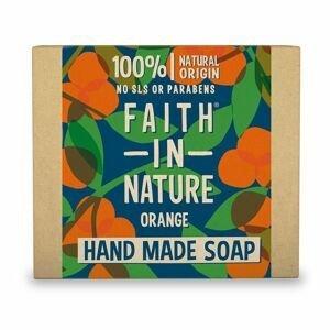 Faith in Nature Rostlinné tuhé mýdlo Pomeranč 105 g