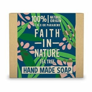 Faith in Nature Rostlinné tuhé mýdlo Tea Tree 105 g