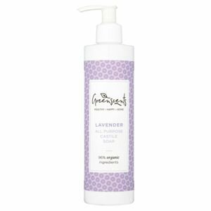 Greenscents Castillské mýdlo levandule BIO 300 ml