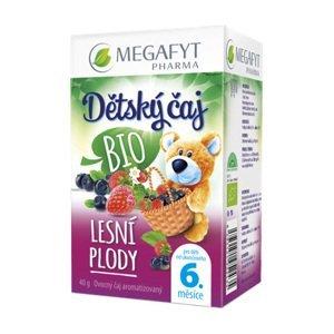 Megafyt Dětský BIO ovocný čaj s příchutí lesní plody 20x2 g