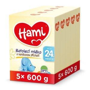 Hami 24m+ Vanilka 5x600 g