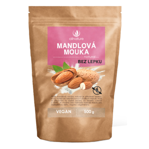 Allnature Mandlová mouka natural 500 g