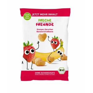 Freche Freunde BIO Křupky Kukuřice, banán a jahoda 30 g