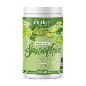 Fit-day Protein Smoothie matcha a limetka 900 g